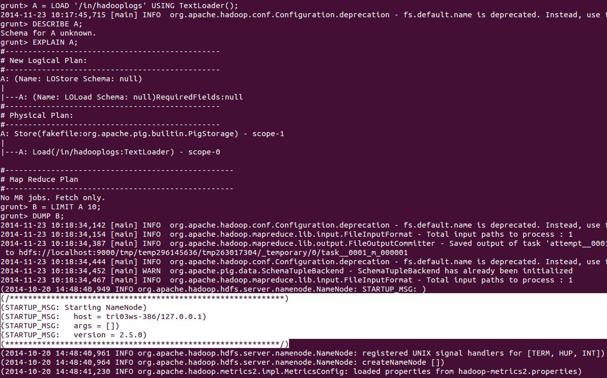 Built-in Load Store Functions in Pig - Hadoop Online Tutorials